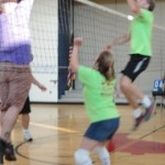 Staff vs. Parents Volleyball Game