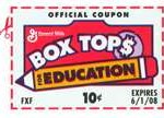 Collect Box Tops for Matoaka