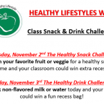 Matoaka Healthy Lifestyle Week Challenges - Thurs & Fri!
