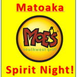 Spirit Night at Moe's Tonight - Thurs Nov 30th 5-9pm