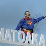 Super Principal Matoaka Elementary halloween parade