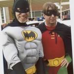 Batman costume Matoaka Elementary halloween parade