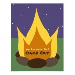 Matoaka Dads Fire & Flix Campout