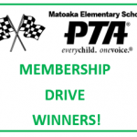 PTA Membership Drive 2017 - Winners Announced!