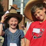 Matoaka Elementary Walk in the Wild West Walkathon, Williamsburg Virginia. Largest fundraiser of the year!